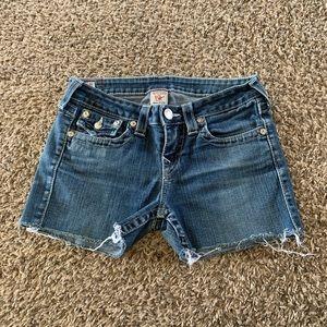True Religion Jean Shorts Size 29